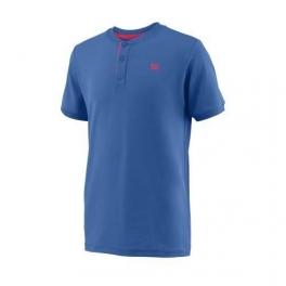 wilson - tricou wilson uwii henley, baieti, albastru, s