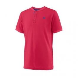 wilson - tricou wilson uwii henley, baieti, rosu, s