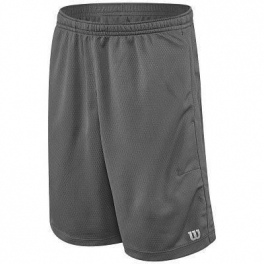 wilson - pantaloni scurti wilson core knit, baieti, gri, s