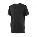 wilson - tricou wilson team solid crew, baieti, negru, s