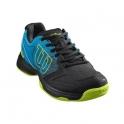 wilson - pantofi sport wilson stroke hawaiian, copii, negru/albastru, 35