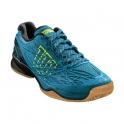 wilson - pantofi sport wilson kaos indoor enamel, barbati, albastru, 45 1/3