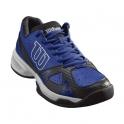 wilson - pantofi sport wilson rush open 2.0, barbati, albastru/negru, 45 1/3