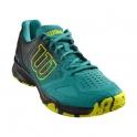 wilson - pantofi sport wilson kaos comp tropic, barbati, verde, 44