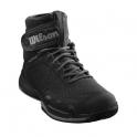 wilson - pantofi sport wilson amplifeel clay court, barbati, negru, 45 1/3