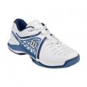 Pantofi sport Wilson Nvision Elite, barbati, alb/albastru, 41 1/3