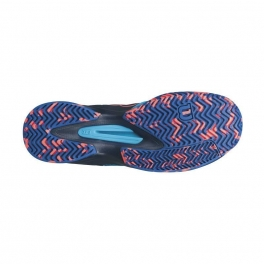 wilson - pantofi sport wilson kaos comp, pentru barbati, albastru/negru, 44 2/3