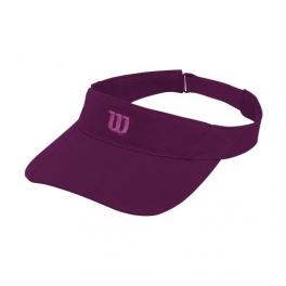 wilson - sapca wilson visor rush knit ultralight, unisex, violet