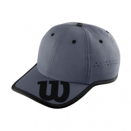 wilson - sapca wilson brand baseball, unisex, gri