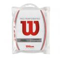 Overgrip Pro Wilson Perforated, 12buc/set, alb